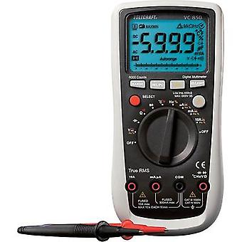 Handheld multimeter digital VOLTCRAFT VC850 Calibrated to: Manufacturer's standards (no certificate) CAT III 1000 V, CA