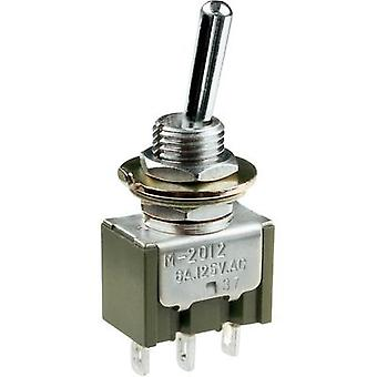 Toggle switch 250 Vac 3 A 2 x (On)/Off/(On) NKK Switches M2028SS1W01 momentary/0/momentary 1 pc(s)