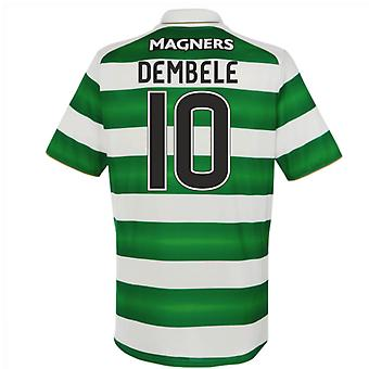 2016-17 Celtic Home Shirt (Dembele 10)
