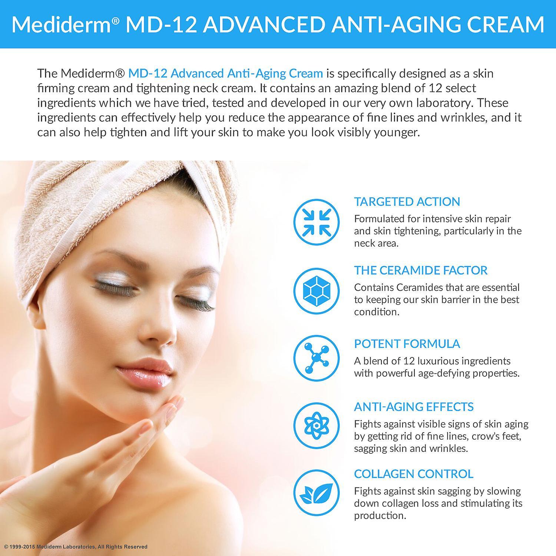 Mediderm MD-12 Advanced Anti-Aging-Creme