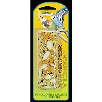 Quiko Bird Grainola Papaya & Almond 71g (Pack of 6)