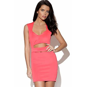 Cut Out Body Con Dress