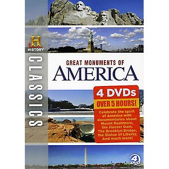 Great Monuments of America [DVD] USA import