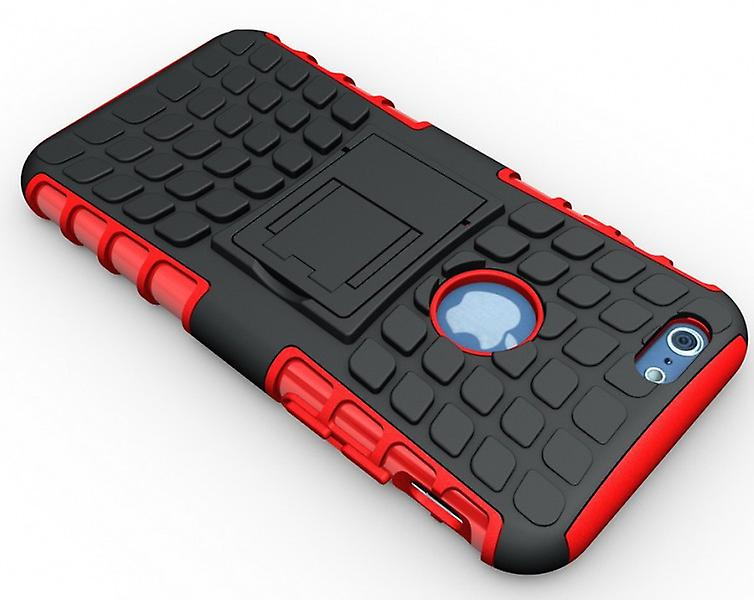 Hybrid Case 2 teilig Robot Rot für Apple iPhone 6 4.7