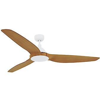 Energy-saving DC ceiling fan Airfusion Type A in White