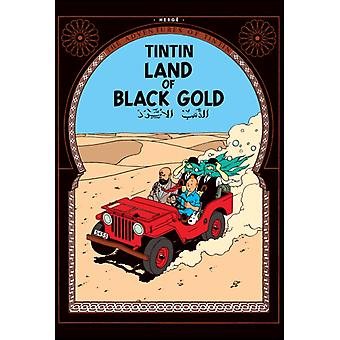 Land of Black Gold (The Adventures of Tintin) (Hardcover) by Herge