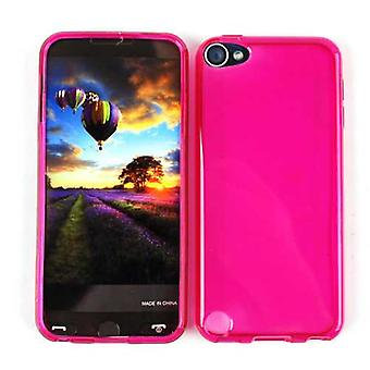 Unlimited Cellular Design Skin Case for Apple iPod Touch 5 (PU Skin, Trans. Hot