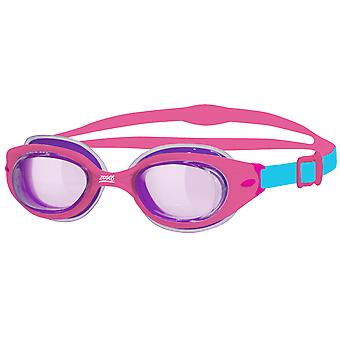 Zoggs Little Sonic Air Swim Goggle 0-6yrs- Purple Tinted Lens - Pink