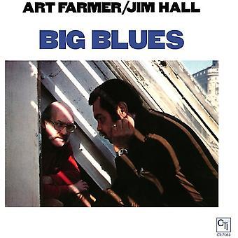 Landmand, kunst & Hall, Jim - Big Blues [Vinyl] USA importerer