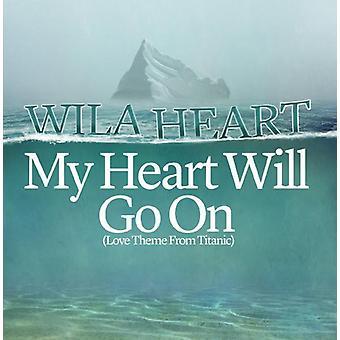 Wila Heart - My Heart Will Go on [CD] USA import