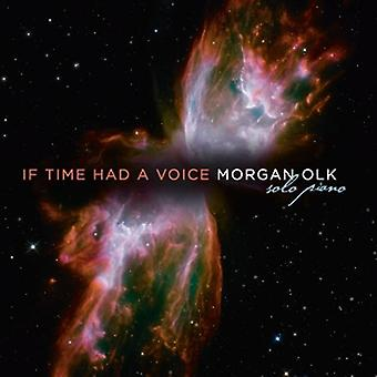 Morgan Olk - If Time Had a Voice [CD] USA import