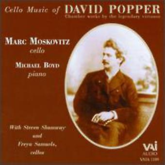 D. Popper - Popper: Cello musik av David Popper [CD] USA import