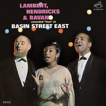 Hendricks Lambert & Bavan - At Basin Street East [CD] USA import