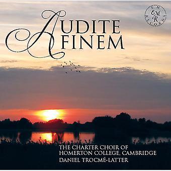 Byrd / Charter kor af Homerton College / Trocme - Audite Finem [CD] USA import
