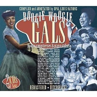 Various Artist - Boogie Woogie Gals [CD] USA import
