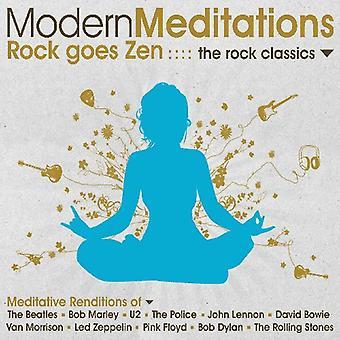 Modern Meditations - Rock Goes Zen: The Rock Classics [CD] USA import