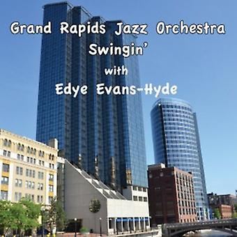 Grand Rapids Jazz Orchestra - Swingin' with Edye Evans-Hyde [CD] USA import