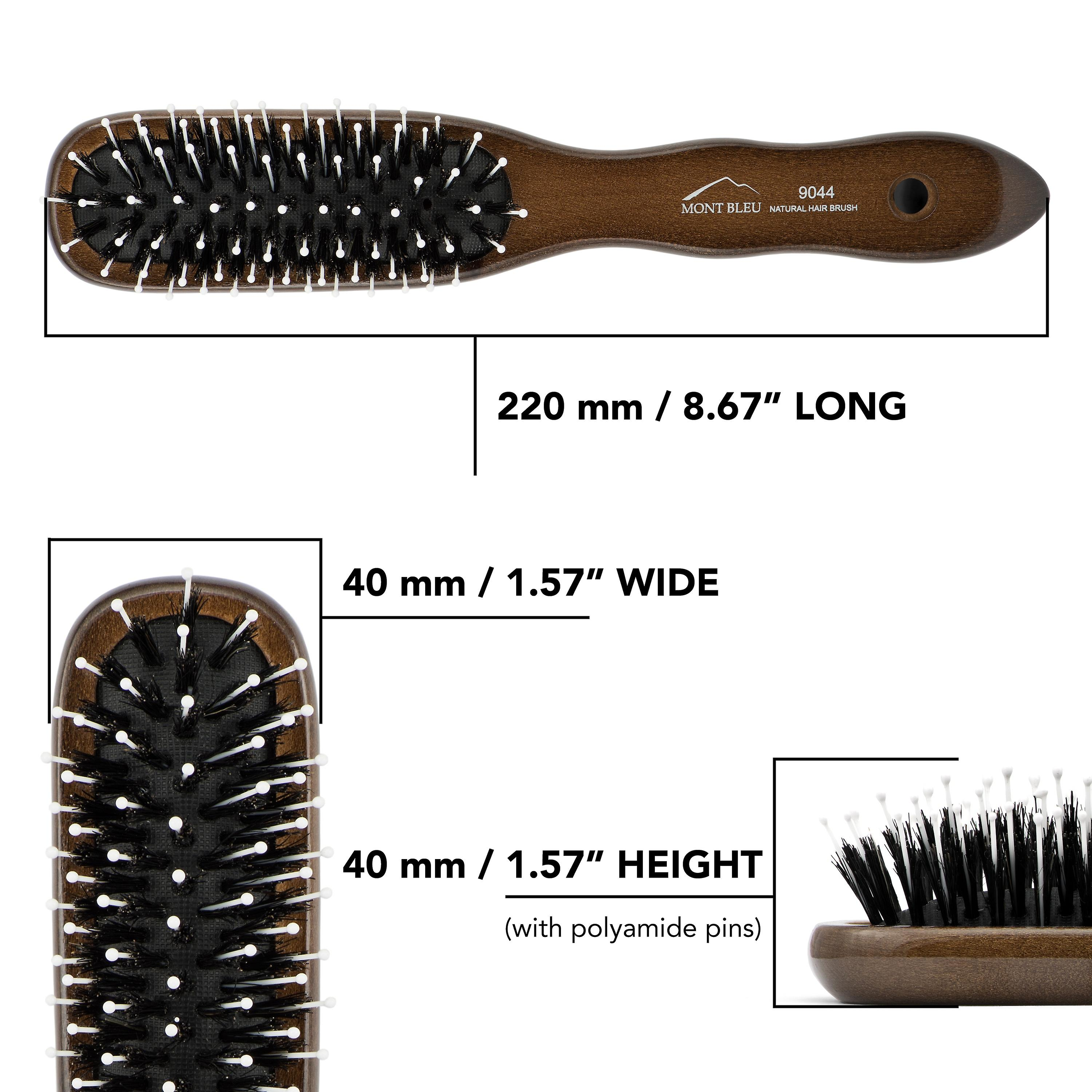 Boar Bristle Hair Brush 9044
