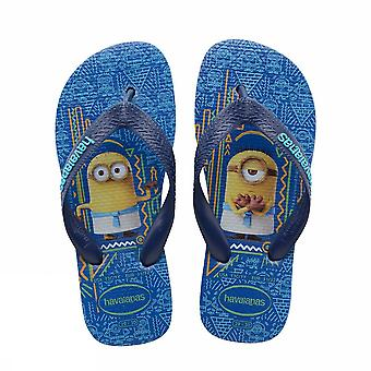 Havaianas kids minions blue 4133126 3847 boys sea shoes