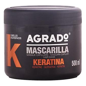 Agrado Cosmetic Keratin Masque 500 Ml (Woman , Hair Care , Conditioners and masks)