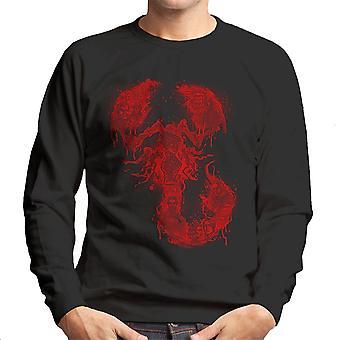 Camiseta um símbolo terrível Halftoned Penny terrível homem