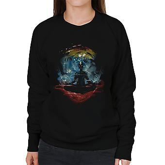 The Last Space Bender Avatar The Last Airbender Meditate Women's Sweatshirt