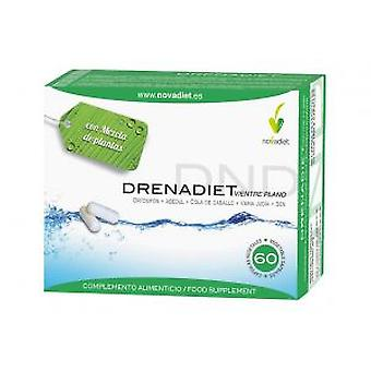 Novadiet Flat Belly Drenadiet 60 Cap (Vitamins & supplements , Fibres)
