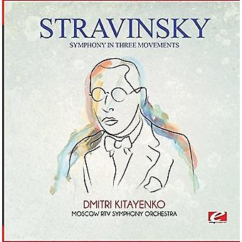 Strawiński - Symfonia w import USA trzy ruchy [CD]