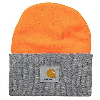 Carhartt akryl Watch Cap - Orange grå A18 825 Herre vinter Hue Ski Hat