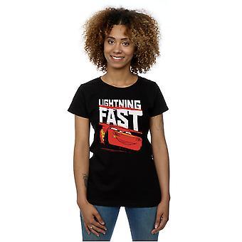 Автомобили Disney женщин молнии быстрый футболку