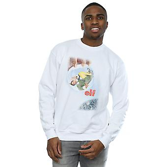 Elf Men's Distressed Poster Sweatshirt