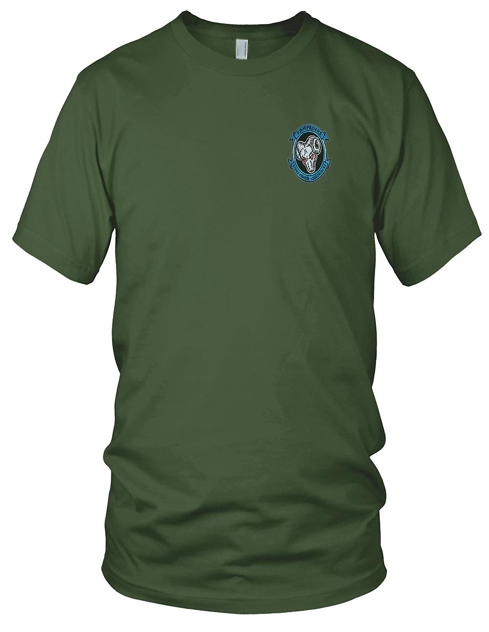 US Navy VFA-83 Strike Fighter Squadron Embroidered Patch - Ladies T Shirt