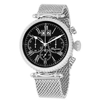 Burgmeister BMP02-121 Paris, Gents watch, Analogue display, Chronograph with Citizen Movement - Water resistant, Stylish stainless steel bracelet, Classic men's watch