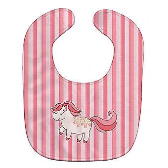 Carolines Treasures  BB7060BIB Little Pink Pony Baby Bib
