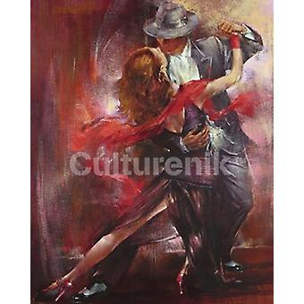 Tango Argentino Ii Poster Poster Print