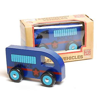 Traditional Wood 'n' Fun Emergency Vehicles