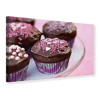 Leinwand drucken Cupcakes
