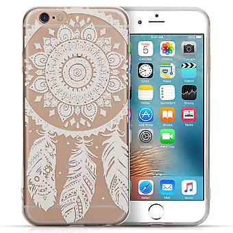 Iphone 6 And 6s And 6s Ultra Thin Dream Catcher Pattern Case - Clear
