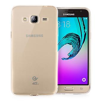 Guarde acessórios Samsung Galaxy J3 Ultra fino Gel caso - Clear