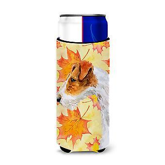Fox Terrier Herbst Michelob Ultra Hugger für schlanke Dosen