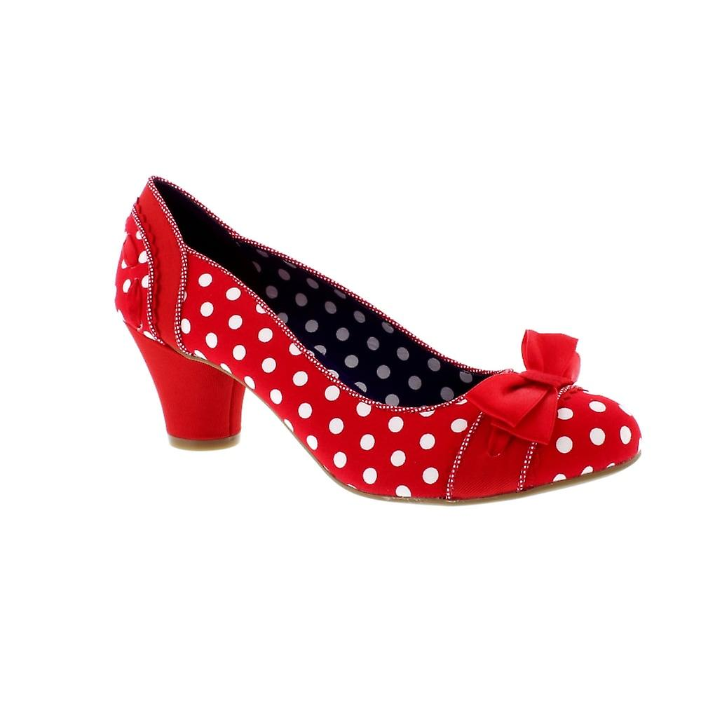 Ruby Shoo Hayley - Red Spots (Textile) Womens Heels