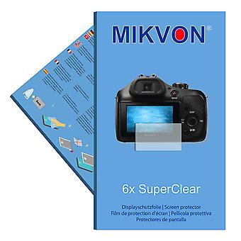 Sony Alpha 3000 screen protector- Mikvon films SuperClear