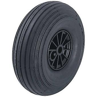 Blickle 10926 wheel with pneumatic tyre and plastic-rims with roller bearing, Ø 260 mm