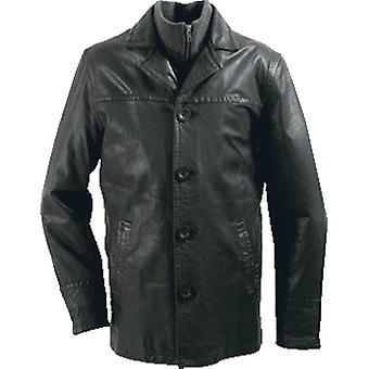 Coveto Mens Leather Jacket