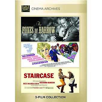 Foxes of Harrow / Flea in Her Ear / Staircase [DVD] USA import