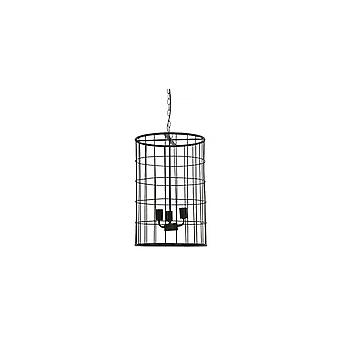 Light & Living Hanging Lamp Ø40x60 Cm BINTY Black Sinc