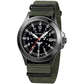 KHS watches mens watch black platoon automatic KHS. BPA.NO