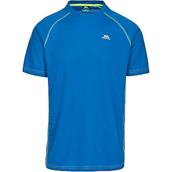 Trespass Mens Ethen Wicking attivo Running manica corta T Shirt