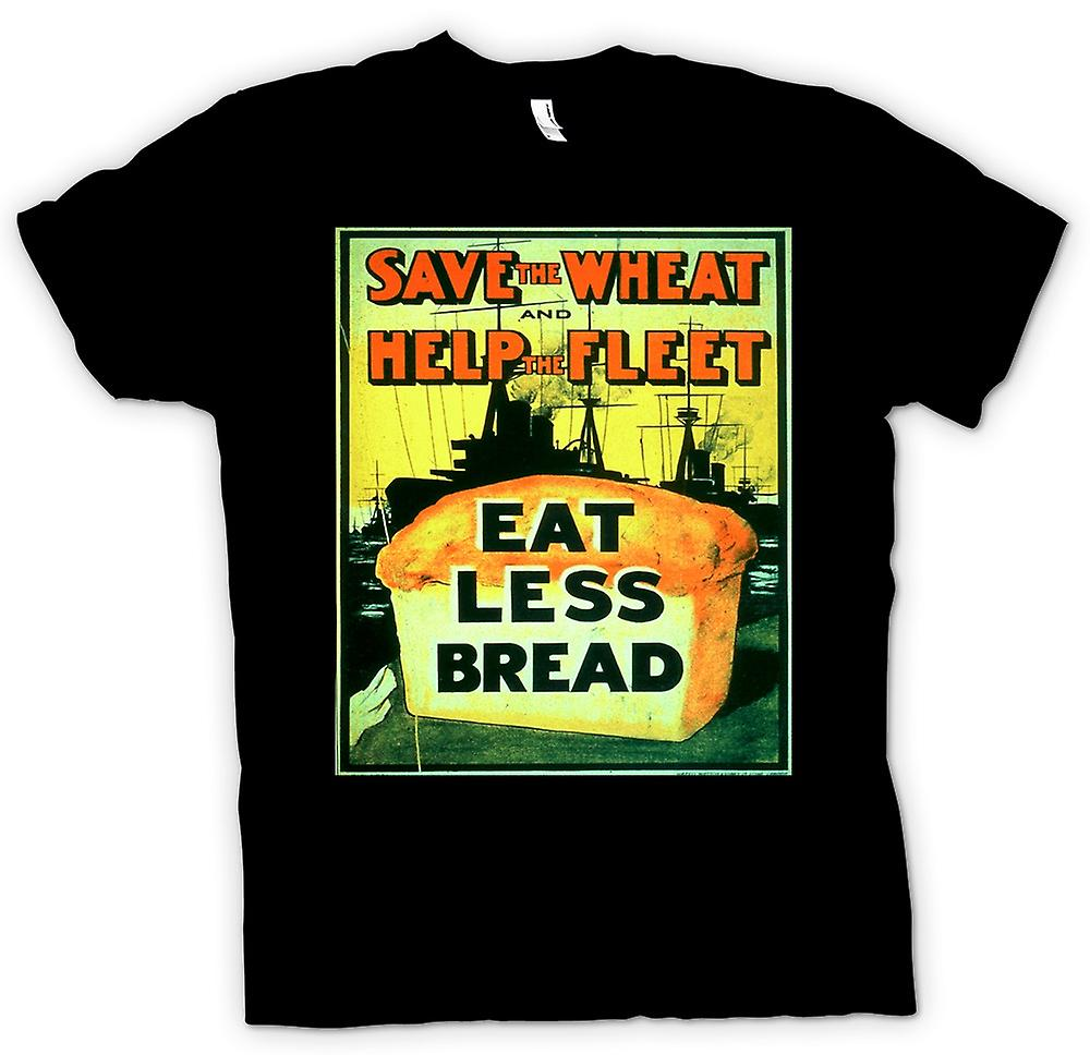 Mens T-shirt - Save the Fleet - War Poster