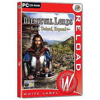 Medeltida Lords bygga försvara expandera (PC CD)